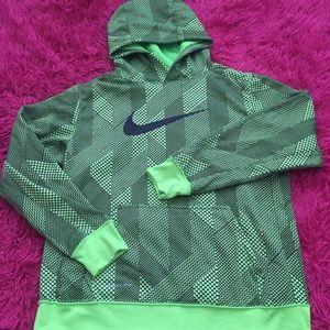 Therma-fit Neon Green Nike Sweatshirt Hoodie